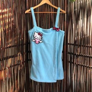 Vintage Hello Kitty after shower wrap
